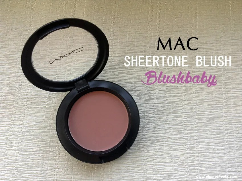MAC Blushbaby Cover