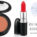 mac lipstick & blush giveaway!