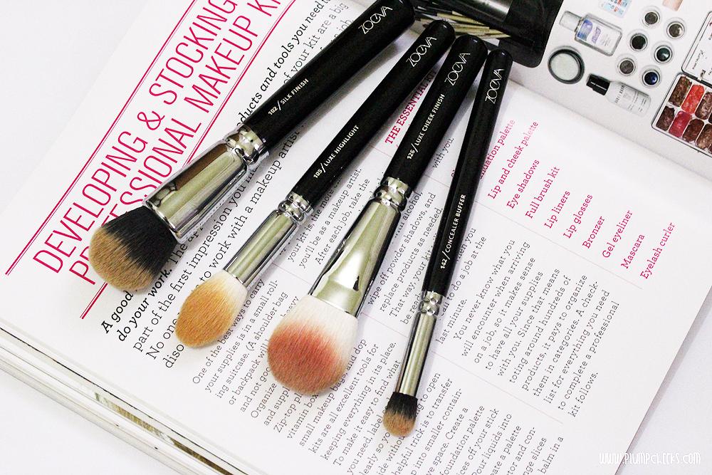 Zoeva Silk Finish brush / Zoeva Luxe Highlight brush / Zoeva Luxe Cheek Finish brush / Zoeva Concealer Buffer brush