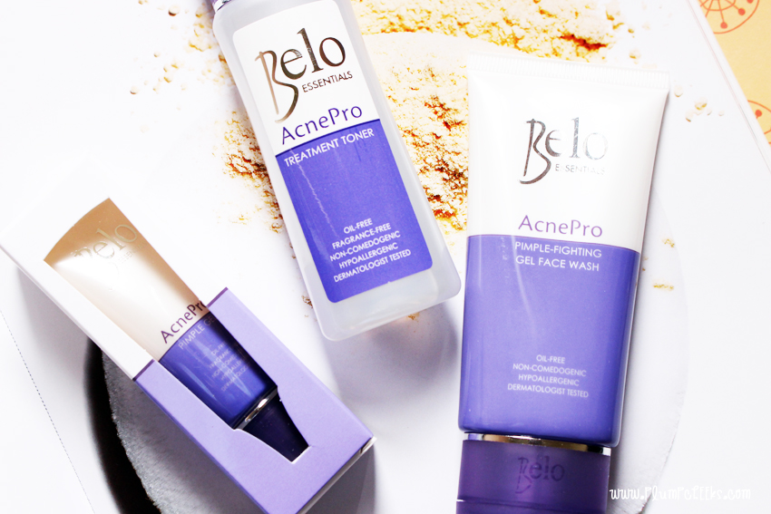 BELO ACNE FACIAL WASH BELO PIMPLE GEL BELO ACNE TONER