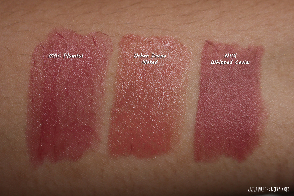 Urban Decay Revolution Lipsticks Swatches and Comparison