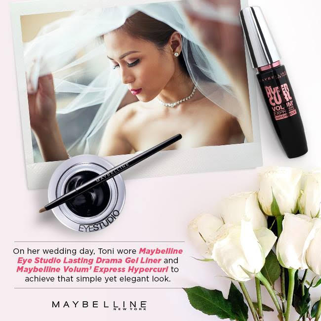 Get Toni G's Bridal Eye Makeup Look with the #Mustcara!