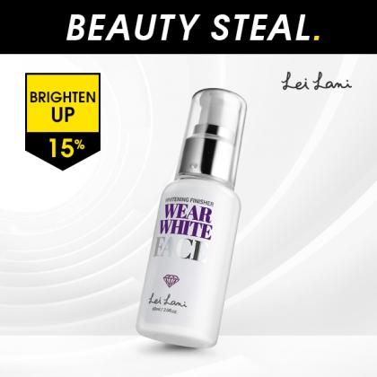 [LEI LANI] WEAR WHITE FACE WHITENING FINISHER