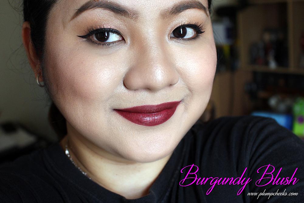 Burgundy Blush