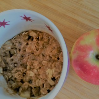 Gluten-free Apple Crisp in a Mug