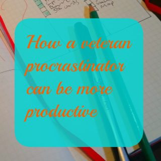 How can a veteran procrastinator become more productive?