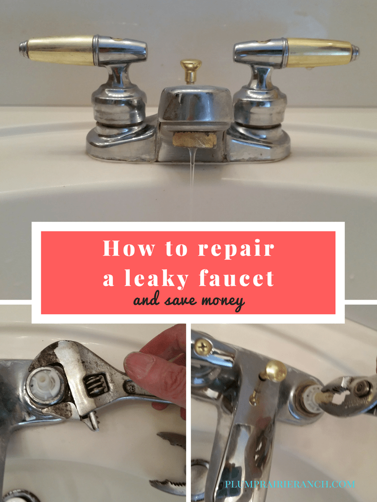 How to repair a leaky faucet and save money