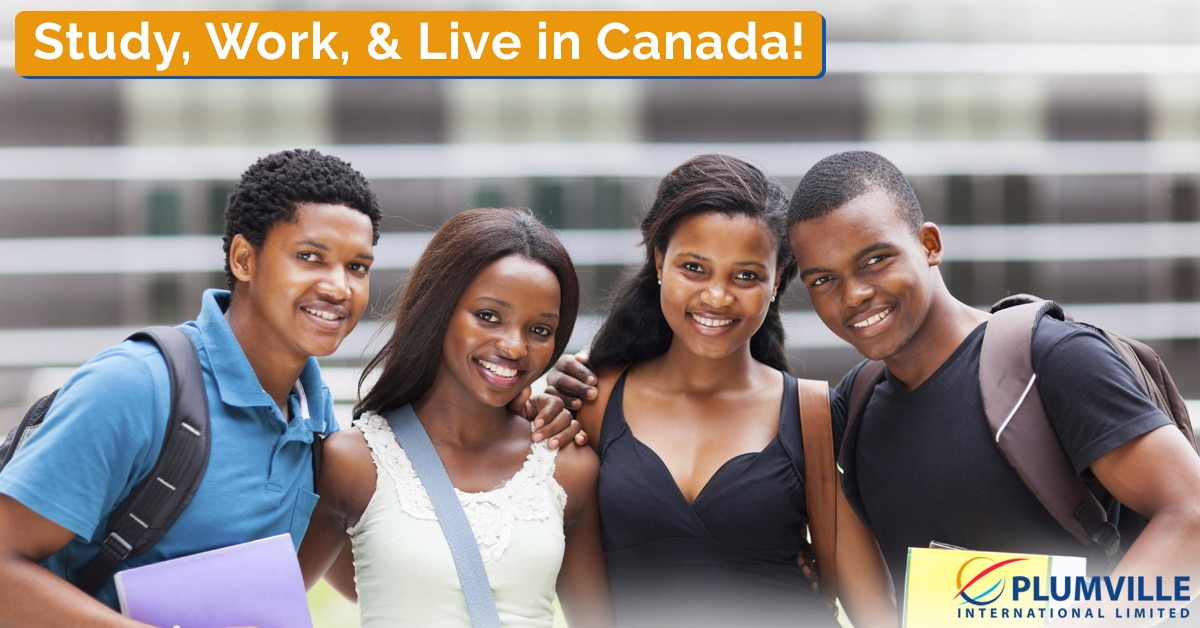 Study, Work, & Live in Canada from Nigeria