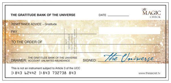 Datant d'un chèque