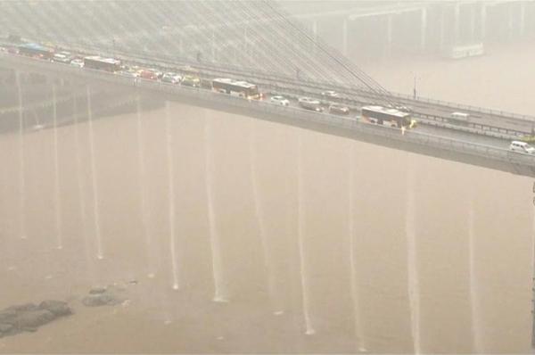 أمطار طوفانية تضرب الصين