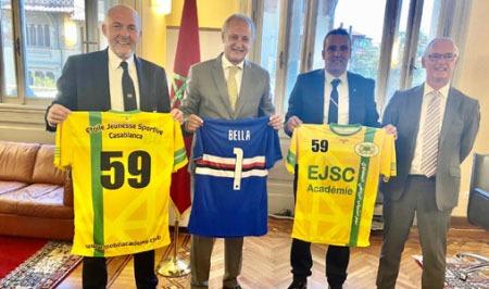 شراكة جديدة بين المغرب وإيطاليا في مجال كرة القدم