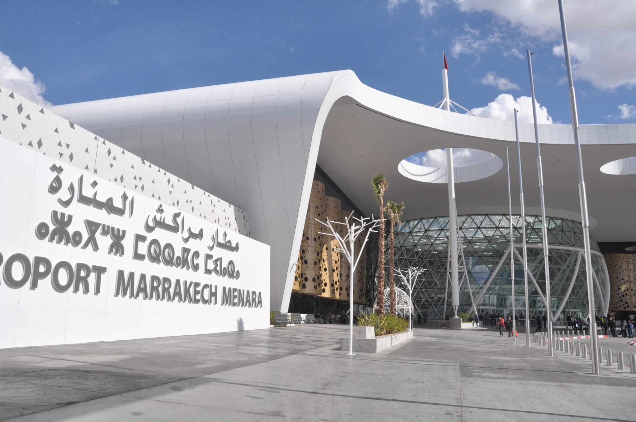 مراكش: بمطار -المنارة سيدة تحاول إضرام النار عمدا في نفسها