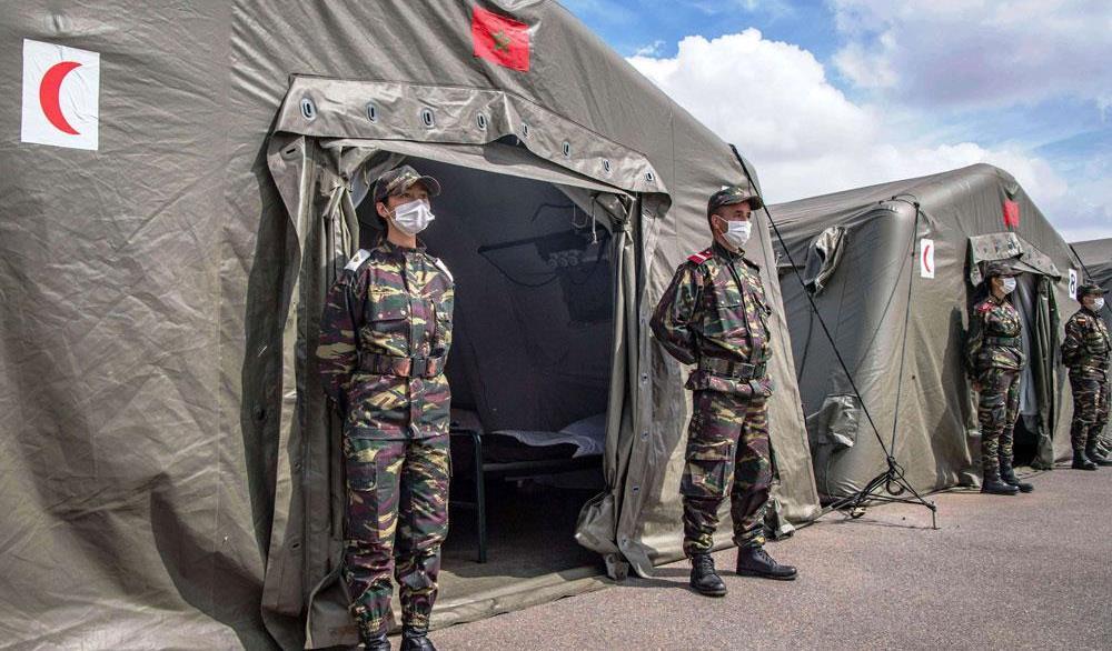 تقرير: حالة وباء كوفيد-19 في أكادير تنذر بخطر محدق وتفرض فتح مستشفى ميداني