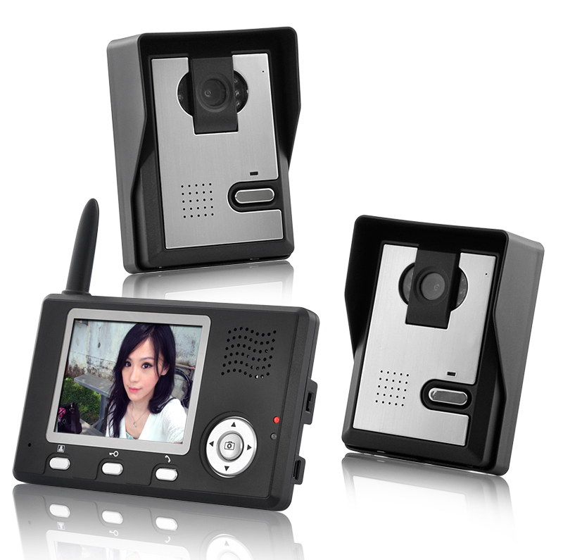 Wireless Outdoor System Camera Monitor Security