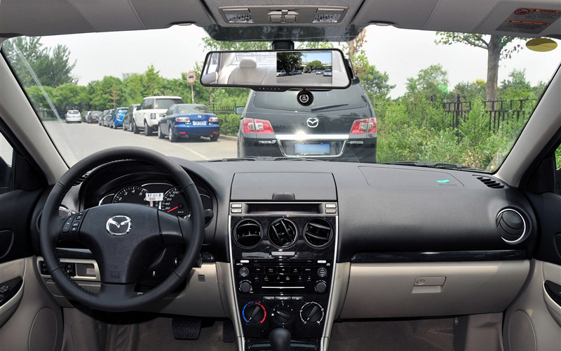 Rear Monitor View Mirror