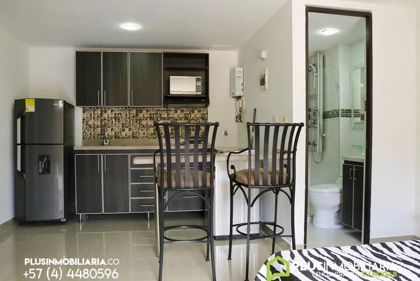 Apartamento Amoblado en Frontier El Poblado A120