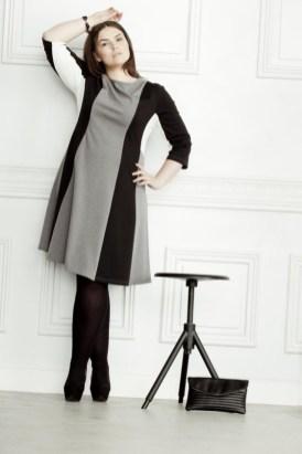 "Mein Favorit! Klare Formen, reduzierte Muster. Model Anna Nathalia Jonik im ""Clean Chic Look"". Bild: bonprix.de"