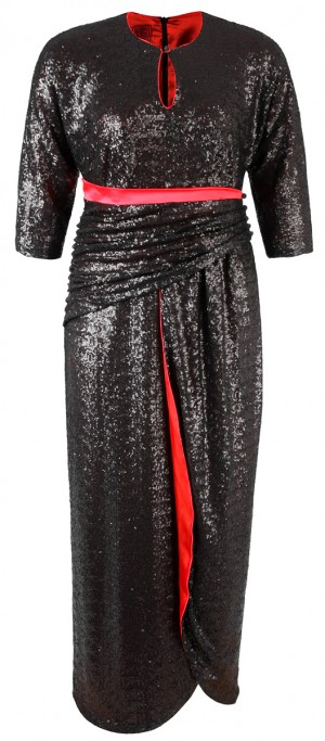 Pailettenwunderwerk in XXL - Dress Metropolis - www.dorismegger.com