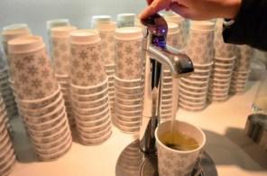 Die Tee-Lounge im Strandgut Resort - Bild: PlusPerfekt.de