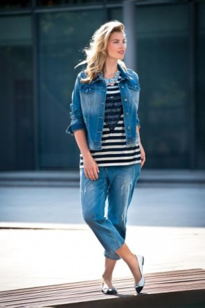 Jeans-Look für Curvys - Bild: No Secret