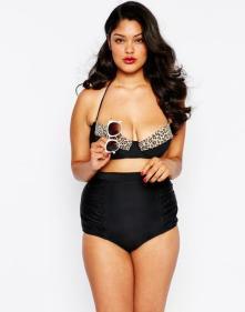 Vintage-Bikini im Tiger-Look I Plus Size I Asos.de