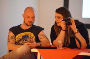 Choreograph Marc Rohde und Plus Size Model Samela I PlusPerfekt.de
