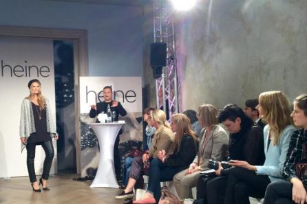 Trendthema Poncho I Modedesigner Kretschmer präsentiert seine Plus Size HW-Kollektion für Heine I PlusPerfekt.de