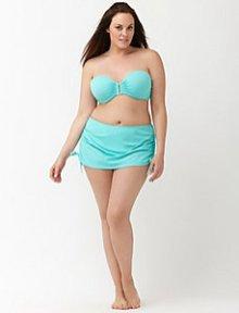 Bikini in Plus Size I Bikini-Rock statt Höschen I LaneBryant.com