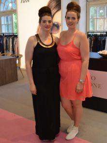 Zwei superhübsche Curvy-Models: Patricia Hanke und Angelina Denk - The Curvy Model