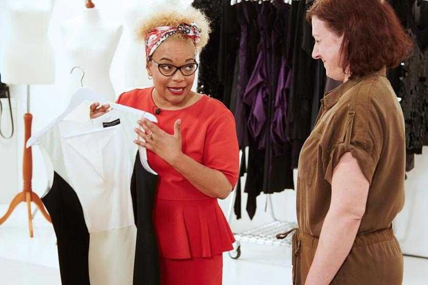 Kleiderschrank-Check mit Liz Akueson I Bild: RTL2