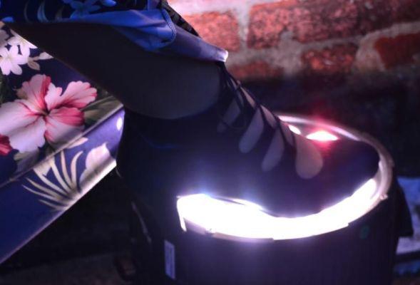 Der linke Fuß von Sarah Brabender ;-)