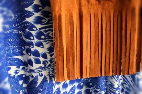 Luftiges Sommerkleid mit Blumenprint von Anna Scholz by Sheego I Fransenjacke im BoHo-Style von Maxima
