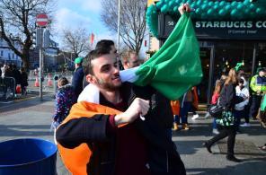 Auf zur Saint Paddys Parade ...