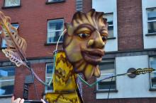 Sankt Patricks Day Dublin I Irland