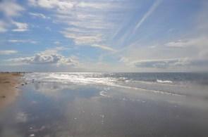 Strandfeeling at it's best! Wir stehen nur 5 Meter vom Wohnmobil entfernt.