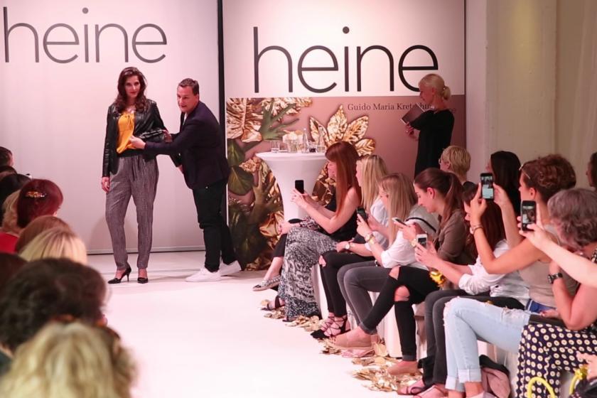 FashionShow Guido Maria Kretschmer GMK Curvy Plus Size Heine