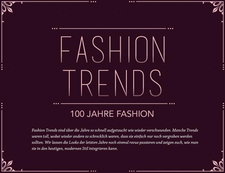100 Jahre Fashion 2