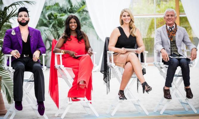 Die Jury von Curvy Supermodel 2016 I Credits: RTL II