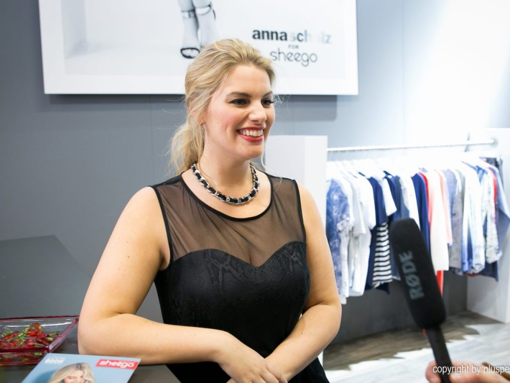 Angelina Kirsch, Model I Credits: PlusPerfekt