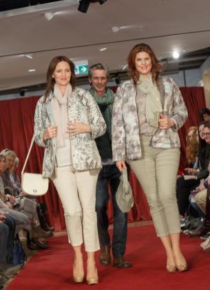 Plus Size Mode bei der Fashion Show von Echter in Weilheim