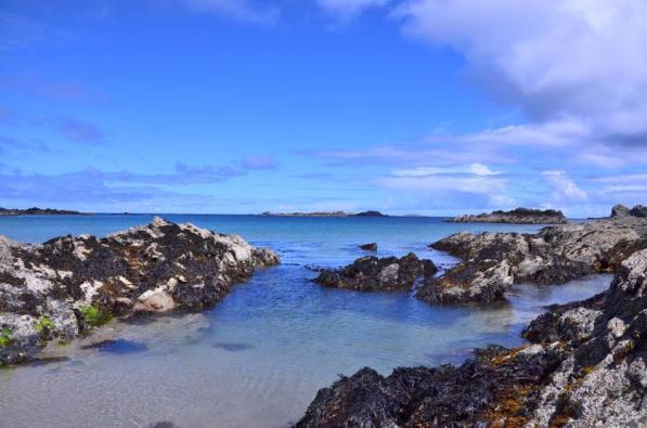 Ein Teil der irischen Küste