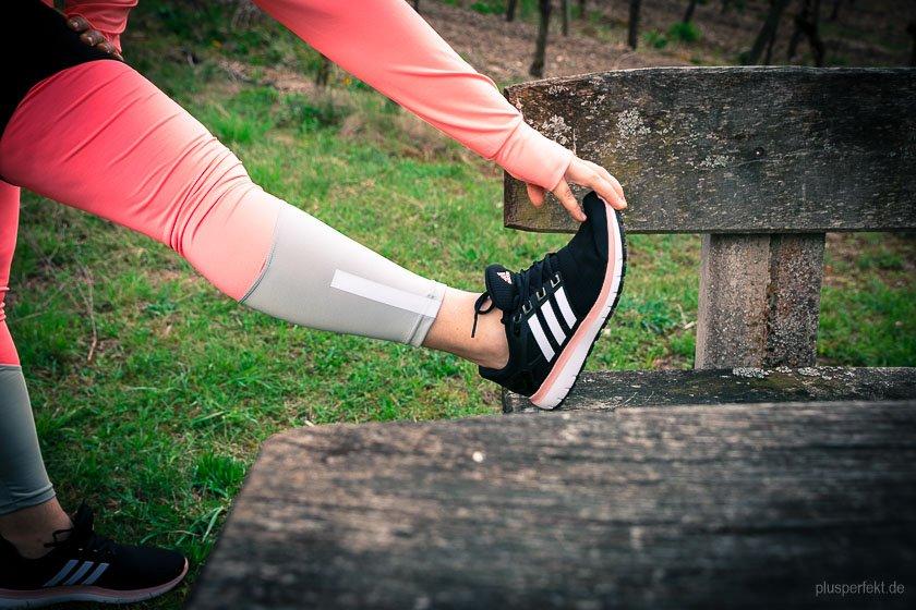 Die Beine müssen aufgewärmt werden II The legs have to be warmed up