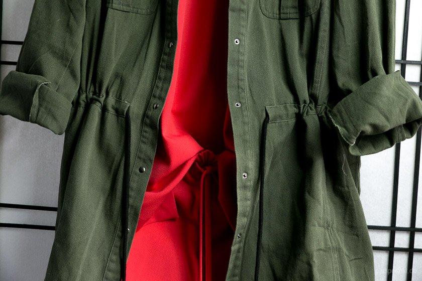 Super Kontrast: Grün zu Signal-Rot