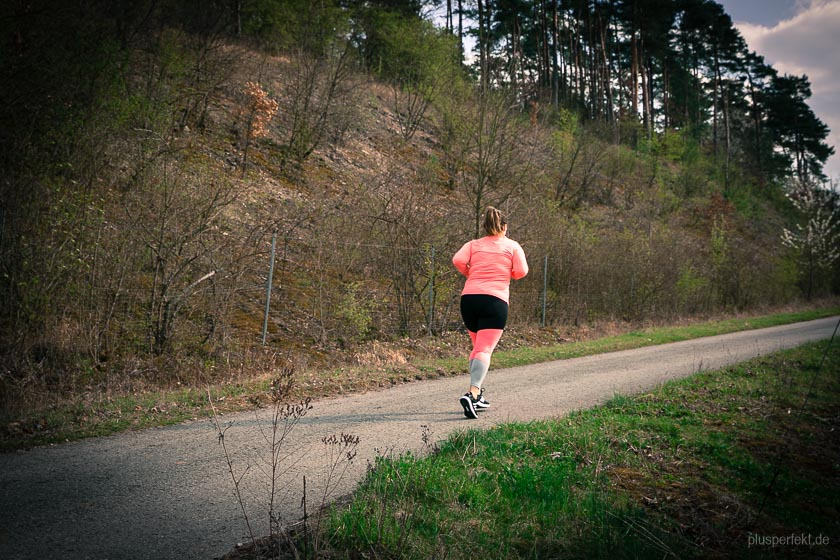 Hebt die Laune beim Laufen: Knallige Farben! I Improves the mood during the run: Loud colors
