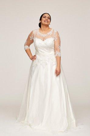 Brautkleider in Plus Size | Credits: Weise Fashion