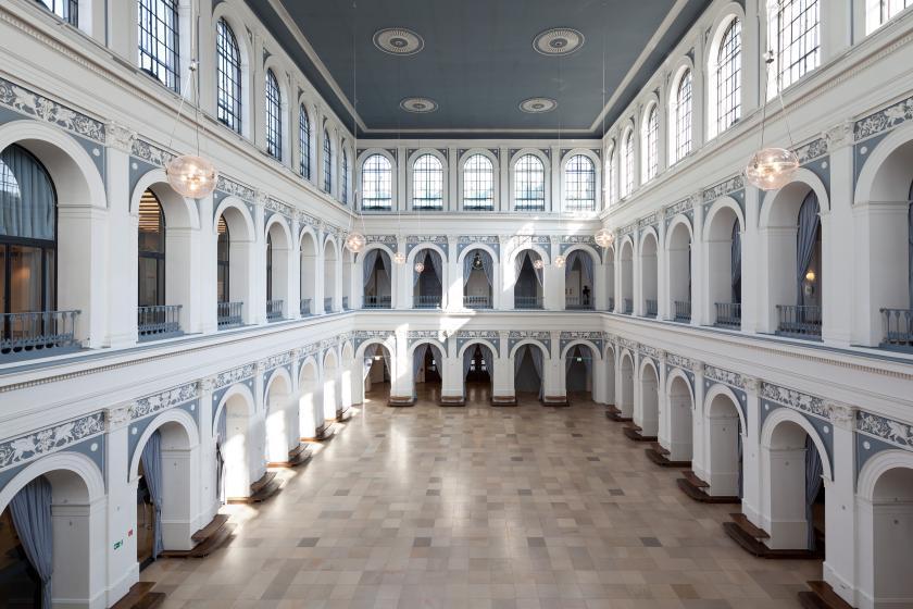 Börsensaal der Handelskammer Hamburg | Credits: Handelskammer Hamburg / Daniel Sumesgutner