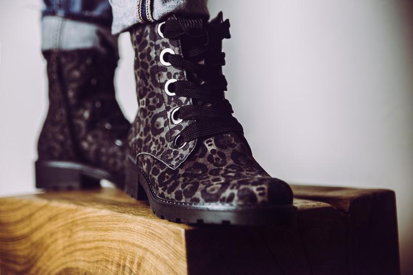Ara Boot Leopard Print