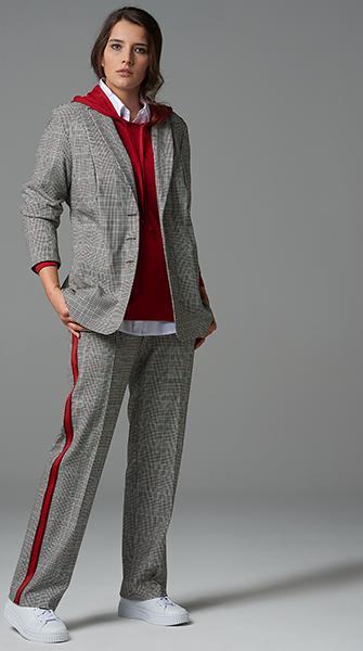 Kariert all over | Blazer und Hose von Verpass Fashion - Credits: Verpass
