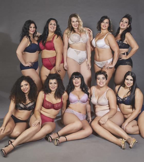 Die Models des Beautiful Curvy Kalenders 2020 | Fotografiert von Stefano Bidini