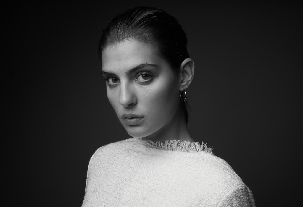Model Lejla, fotografiert von Christoph Marti